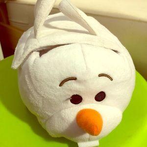 Disney Olaf carrier Tsum Frozen Bundle Plush - NEW